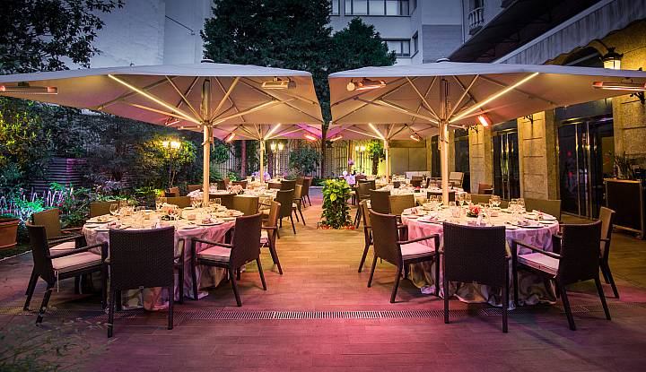 Bodas vp hoteles madrid for Hotel jardin recoletos